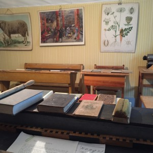 Museet skolsalen